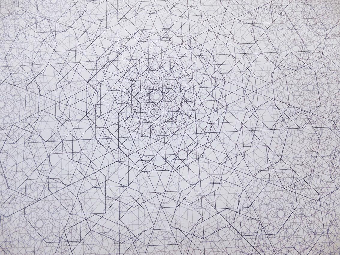 Pendant geometrie sacrée 3 detail
