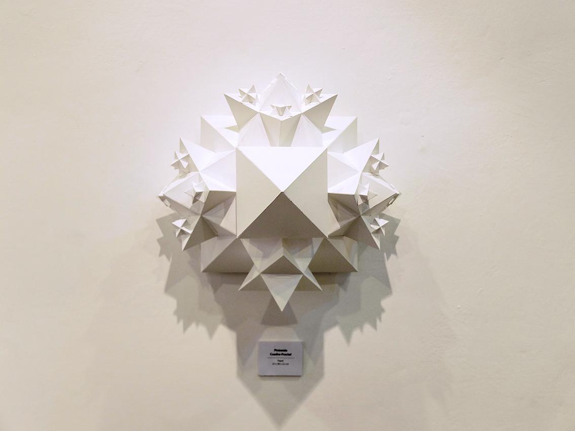 Pyramide carré-fractale