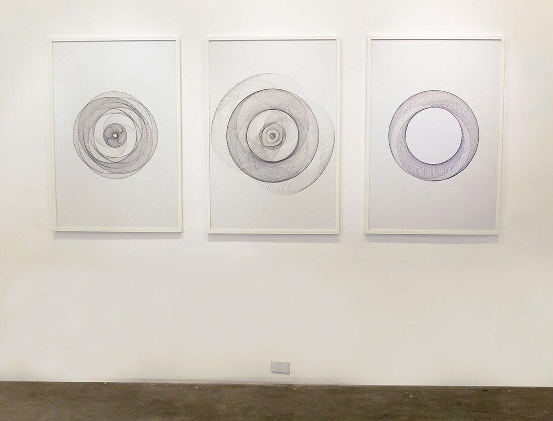 Serie forme cyclique noir